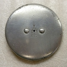 1929 BSA Sloper motorcycle petrol cap, stamped Model S