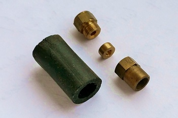 '20s style brass wiring connector