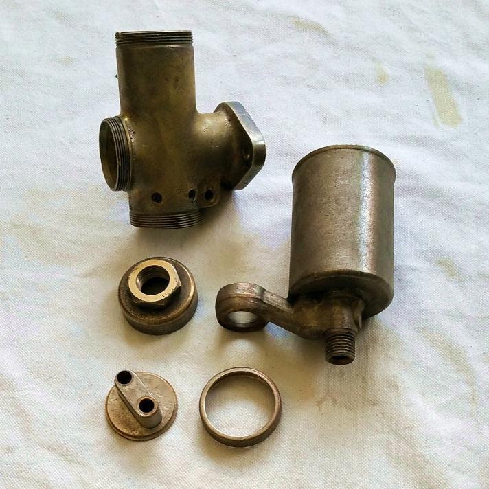 BSA Sloper brass AMAL carburettor parts